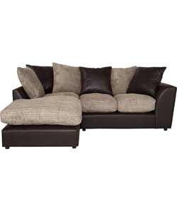 Riley Fabric Left Hand Regular Corner Sofa Group Natural Corner Sofa Sofa Sectional Couch