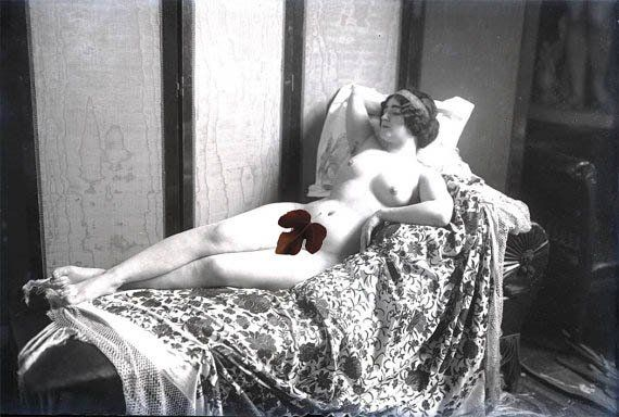 Reclining nude art photography agree, remarkable