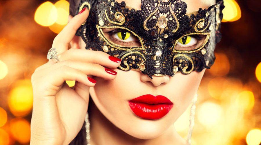Bunte Kontaktlinsen zum Karneval | Lensstyle  Die närrische Zeit ist da und Faschingspartys sind im Moment der ideale Ort für flirtwillige Menschen. Doch wie machst du am besten auf dich aufmerksam und signalisierst, dass du gern angesprochen wirst? Probier's doch mal mit farbigen #Kontaktlinsen!