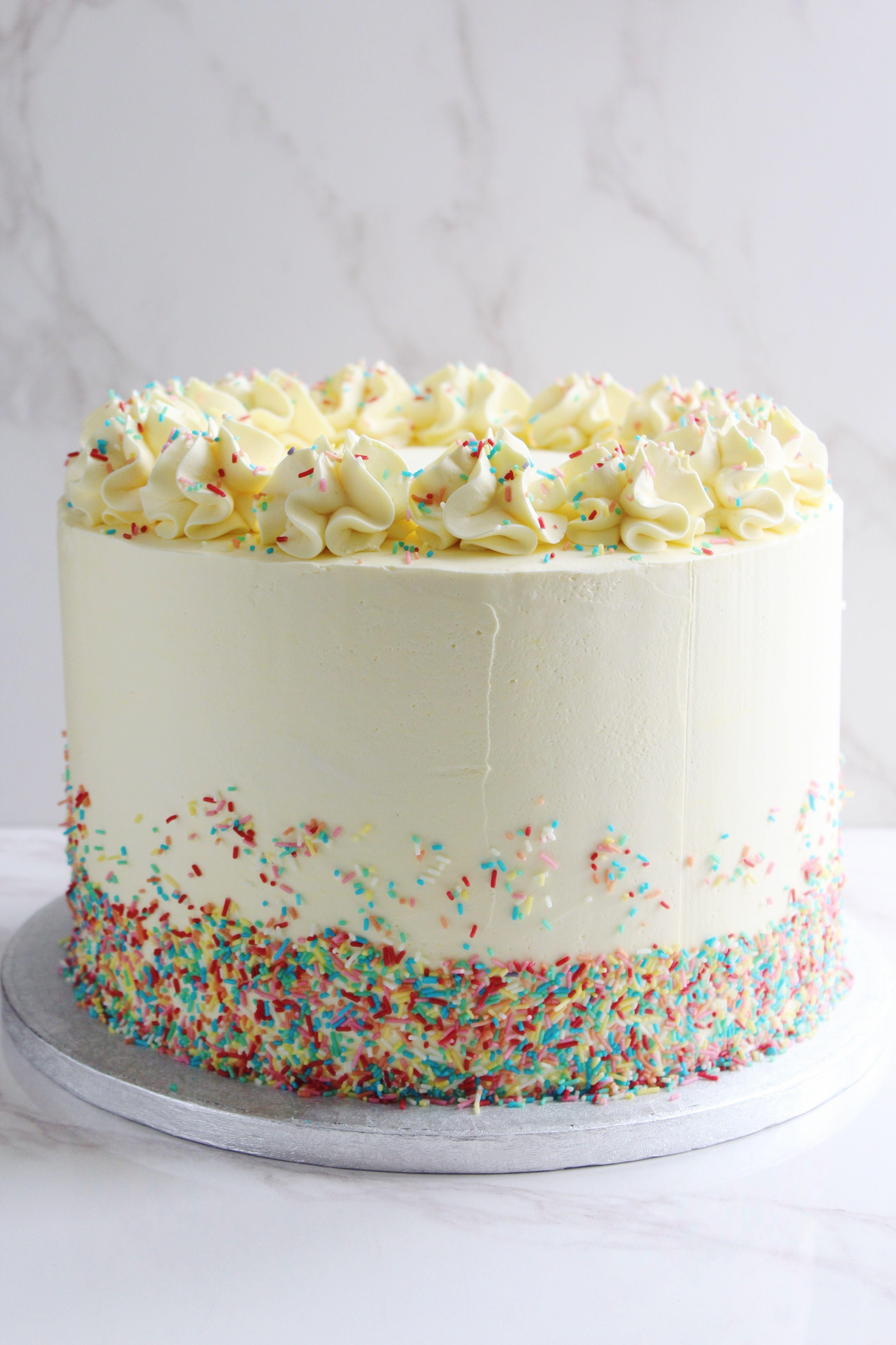 Birthday Sprinkles Cake Recipes Sprinkles Birthday Cake Cake
