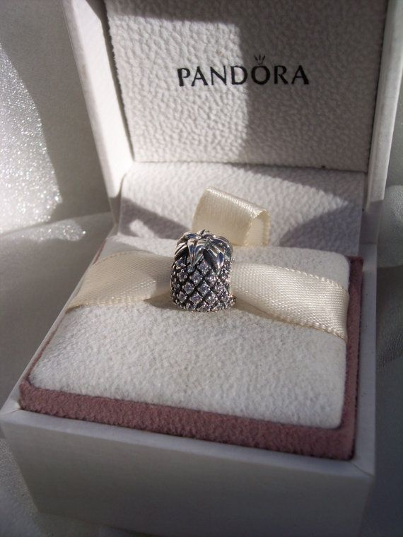 7785f2504 Authentic Pandora Sparkling Pineapple Clear CZ by JEWELSELAGANT | P ...