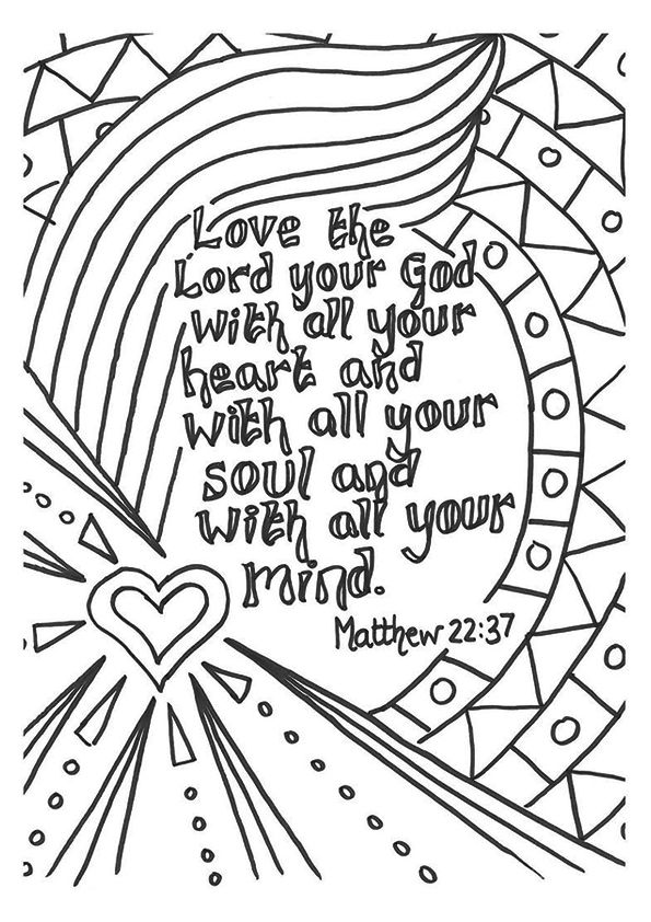 top 10 bible verse coloring pages for your toddler - Free Printable Bible Coloring Pages For Children