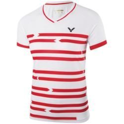 Reduced t-shirts for women -  Victor T-Shirt Denmark Female White 6618 Badminton …  - #EasyFitness #...
