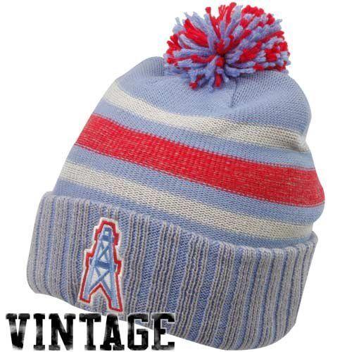 b8664b2ac NFL Men s Houston Oilers Classics Cuffed Pom Knit Hat - Kd97z by Reebok.   18.99.