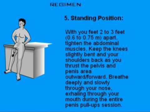 kegel øvelser mænd ejakulation