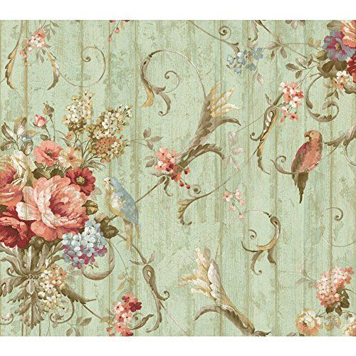York Wallcoverings HA1326 Blue Book Parrots with Floral Bouquets Wallpaper, Blue York Wallcoverings http://www.amazon.com/dp/B00H3SEAKS/ref=cm_sw_r_pi_dp_HURNvb06QNKAE