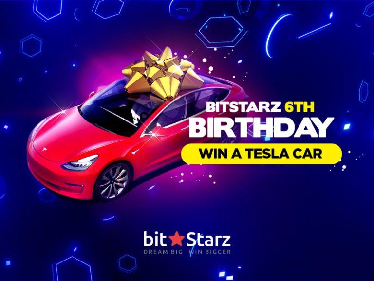 Celebrate BitStarz Birthday and Win a Tesla Model 3! in ...
