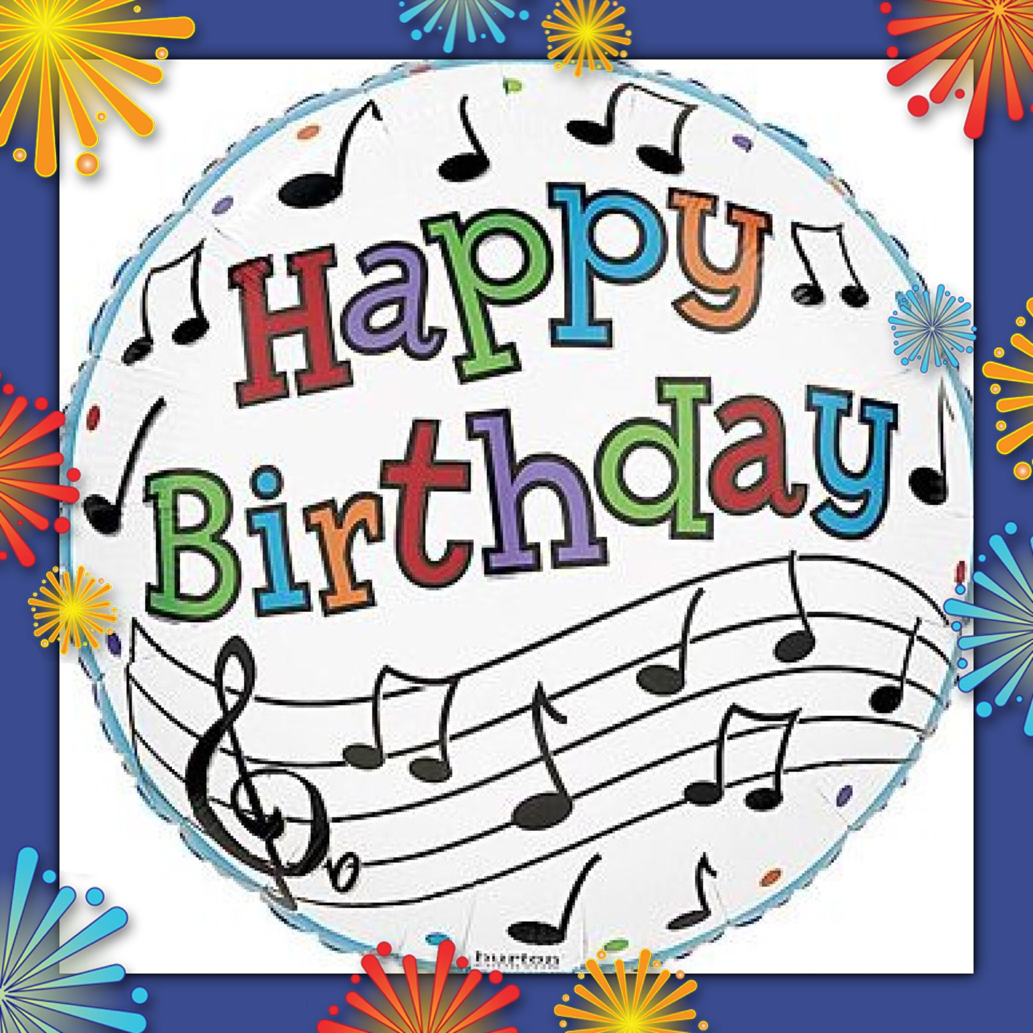 MUSICAL CARD Happy Birthday, FACEBOOK! Greetings for
