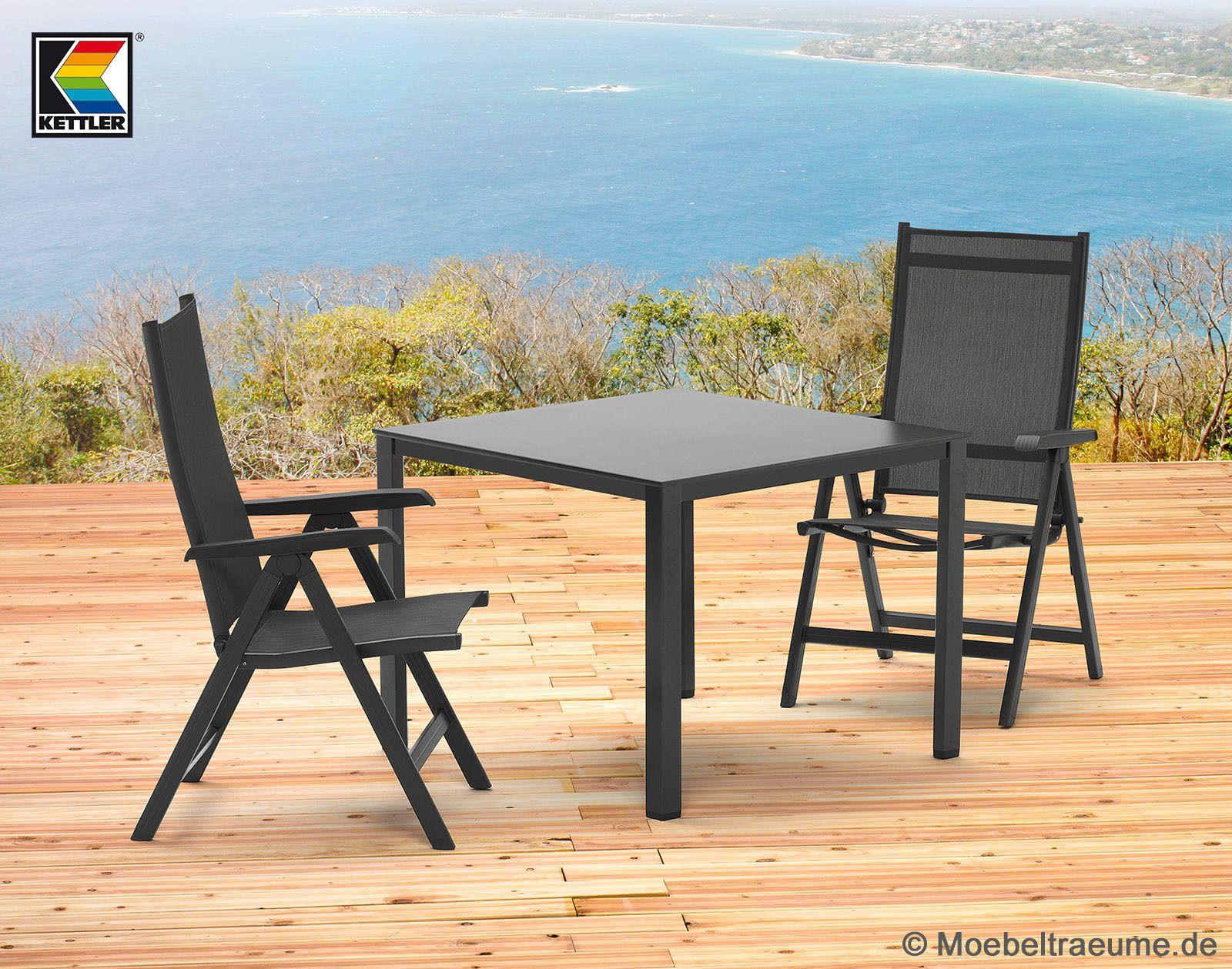 1 Tisch 95 X 95 Cm Und 2 Sessel Kettler Basel Gartenmo 1 Tisch