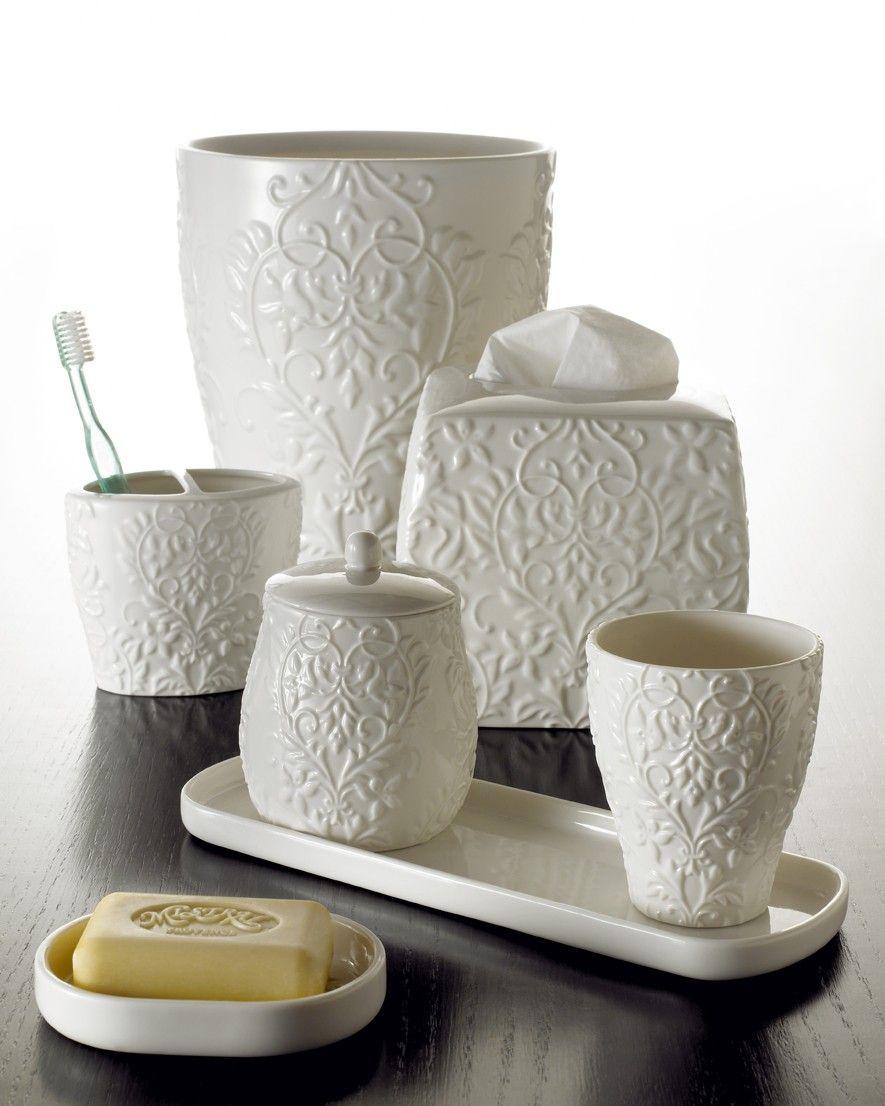 Madison Ave Bath Collection 100% Fine Porcelain Bath Accessories ...