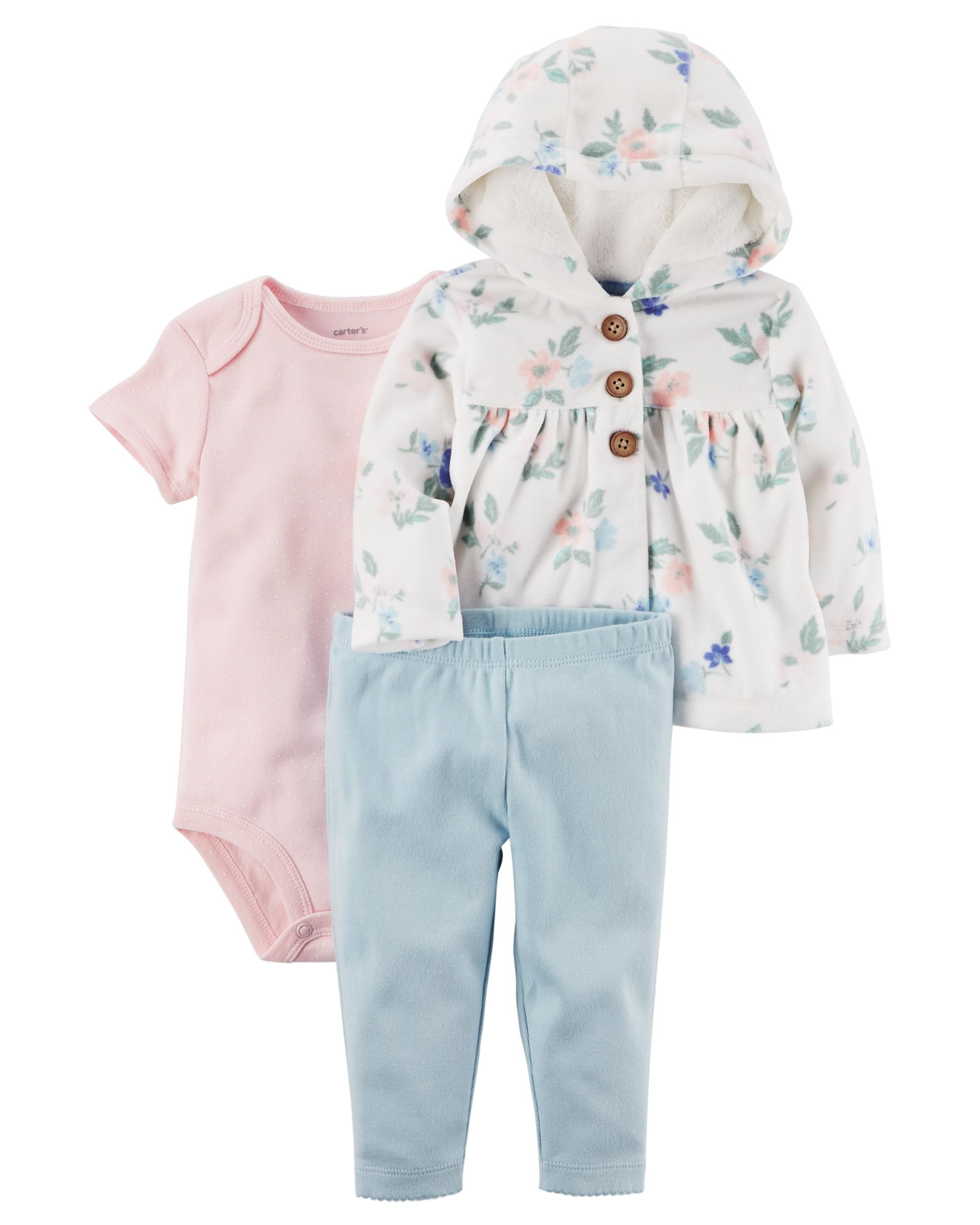 3 Piece Little Jacket Set | | Baby girl outfits