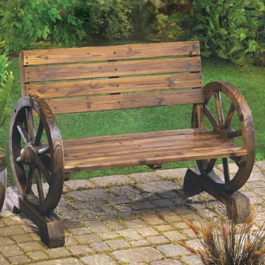 Details About Park Bench 2 Person Loveseat Porch Patio Outdoor