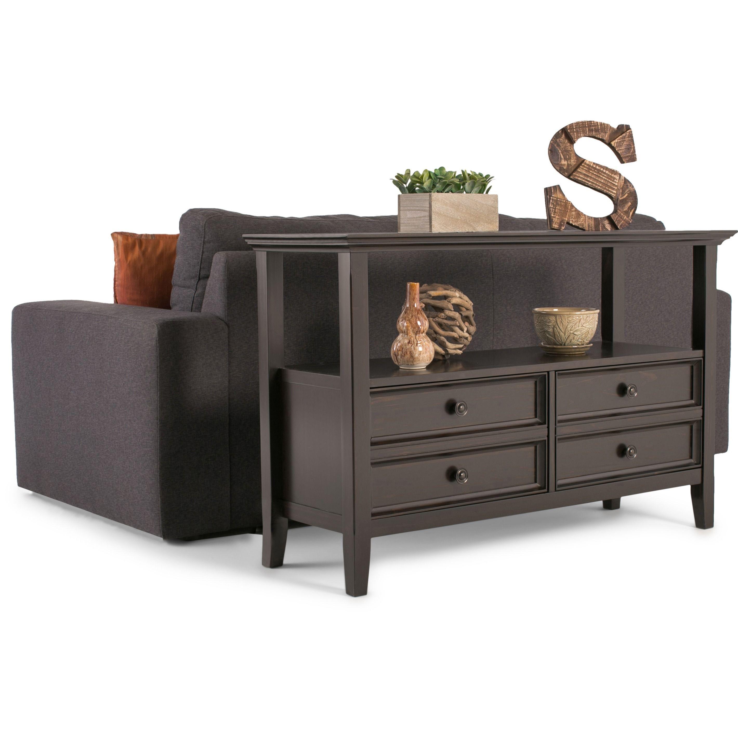 Marvelous Wyndenhall Halifax Console Sofa Table Izzys Apartment Camellatalisay Diy Chair Ideas Camellatalisaycom