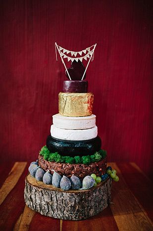 wedding cheese cake | www.onefabday.com