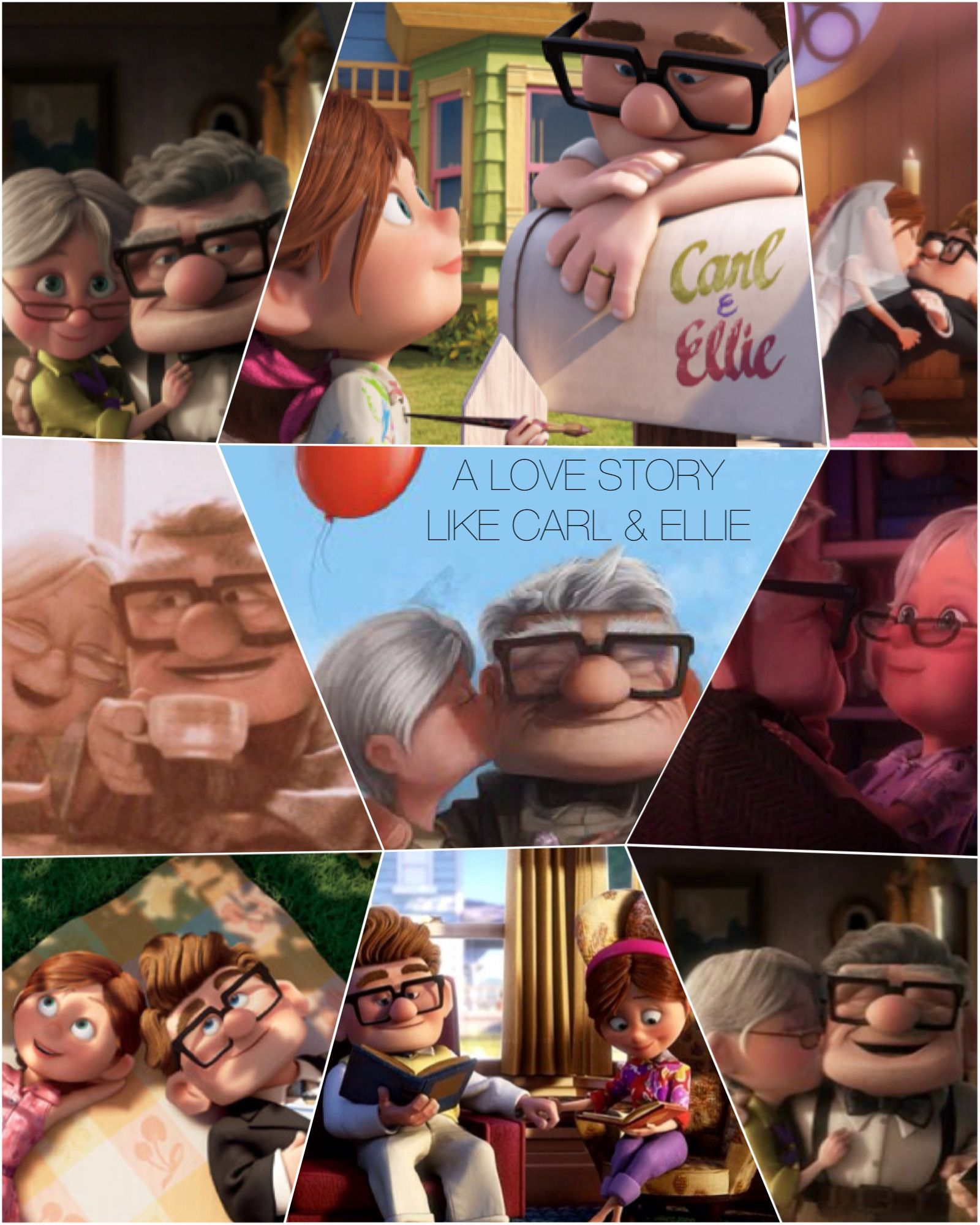 up carl and ellie love story