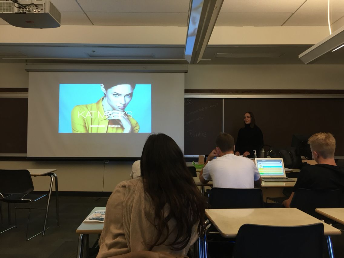 Today's lecture by Kat Marks was amazingly inspiring. I am very ...
