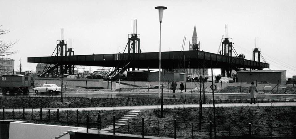 Berlin Neue National Galerie Under Construction Mies Van Der Rohe Van Der Rohe Mies Van Der Rohe Architecture