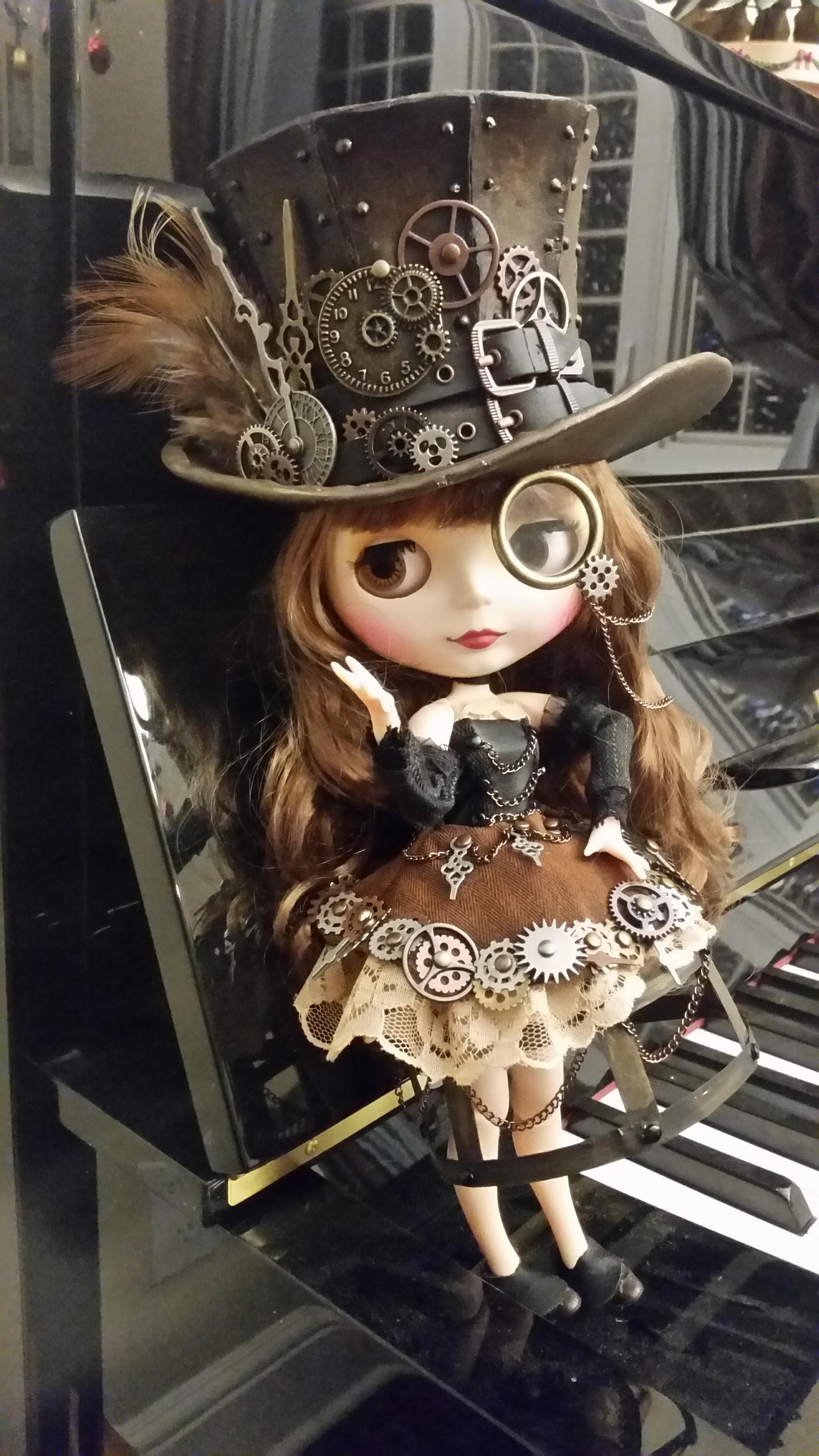 My Parents And I Designed A Steampunk Doll For My Little