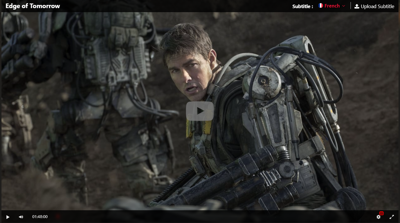 Hd Edge Of Tomorrow 2014 Film Complet En Francais In 2020 Edge Of Tomorrow Tom Cruise Cruise Pictures