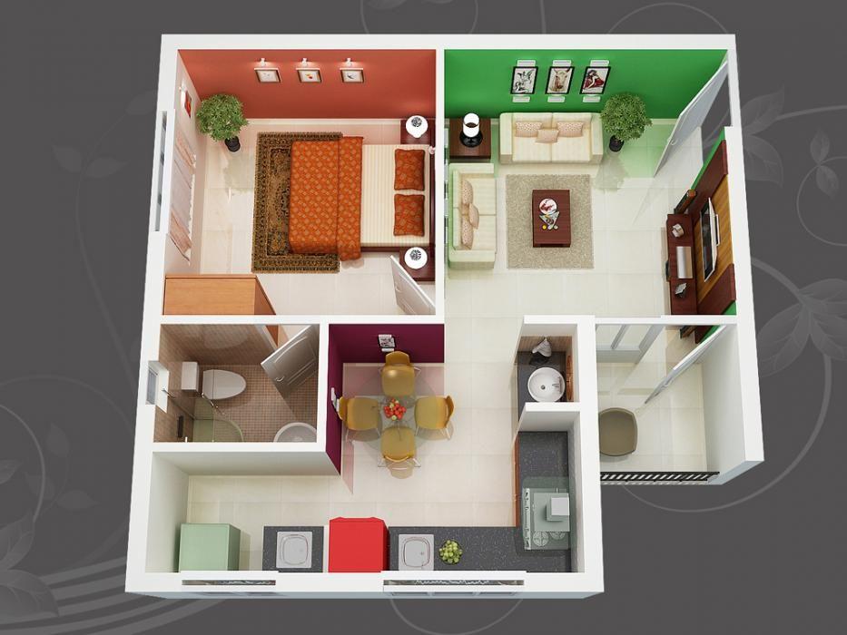 image description Modern house plans Pinterest D Floor