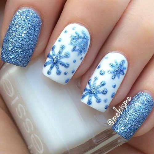 Best Winter Nails for 2018 - 65 Cute Winter Nail Designs   Winter ...