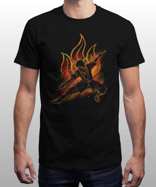 """""""the fire bender"""" is today's £9/€11/$12 tee for 24 hours only on Pin this… 