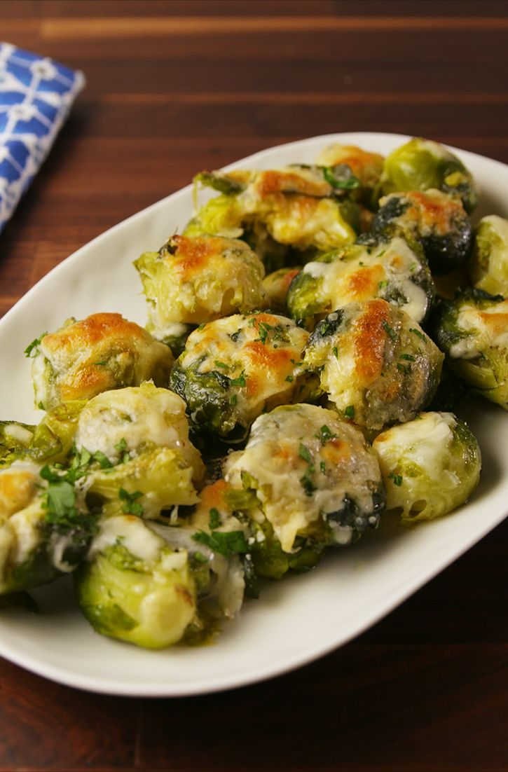 the 44 most delish christmas side dishes great veggies pinterest brussels sprouts brussels and sprouts - Christmas Side Dishes Pinterest