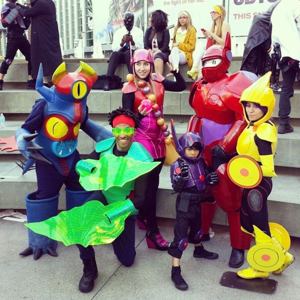 Big Hero 6 Costumes Google Search Big Hero 6 Costume Disney Family Costumes Family Halloween Costumes