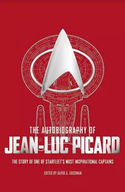 Read A Sample From Titan Books Unofficial Autobiography About About Jlp Link To Purchase Within As Well Jean Luc Picard Picard Autobiography
