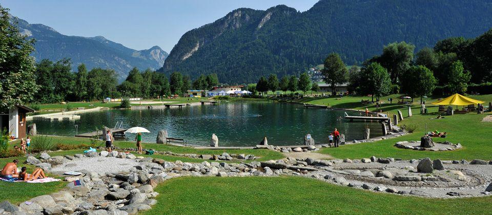 Badesee Schlitters | Swimming in Zillertal | Pinterest ...