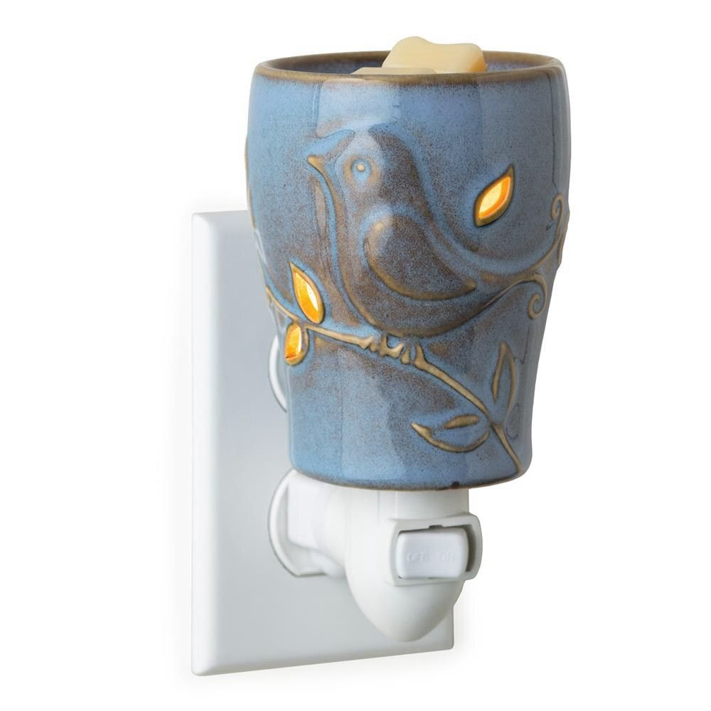 Small Wax Warmer - Bluebird