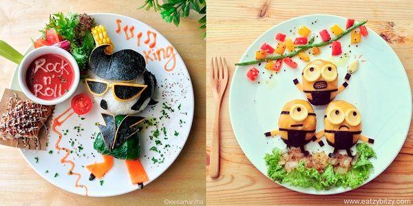desenhos com comida - Pesquisa Google