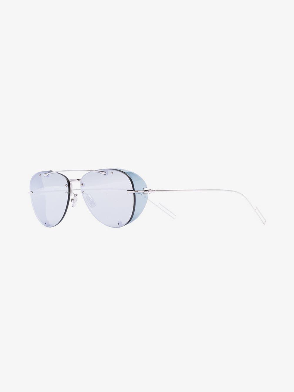 5354a52c89e2 DIOR DIOR EYEWEAR DIOR CHROMA1 SUNG SILV. #dior Mirrored Sunglasses, Eyewear,  Dior