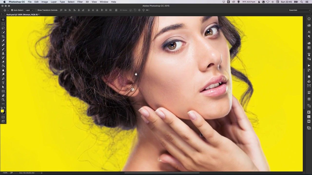 learn how to use the background eraser tool in adobe photoshop