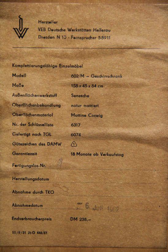 Atelier Pi dw hellerau franz ehrlich sideboard 602 m atelier pi berlin