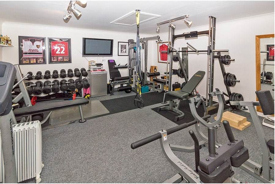 Don t use your garage why not convert it into a gym shorter