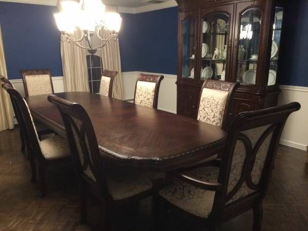 Furniture Formal Dining Room Set Table China Cabinet