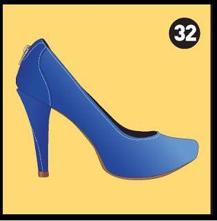 Fashionista Smile: Fashion, Beauty and Style: Tavola Periodica delle Scarpe da Donna by Zalando