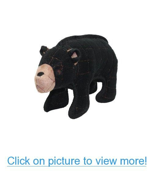 Vip Products Tuffy Jr Beaufort Bear Zoo Dog Toy Pet Toys