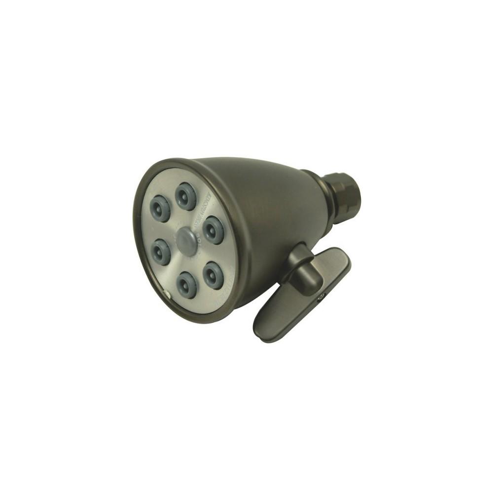 Photo of Kingston 6-Jet Adjustable Spray Showerhead Oil-Rubbed Bronze – Kingston Brass