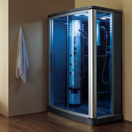 Ariel WS-803L steam shower unit is complete with a steam shower ...