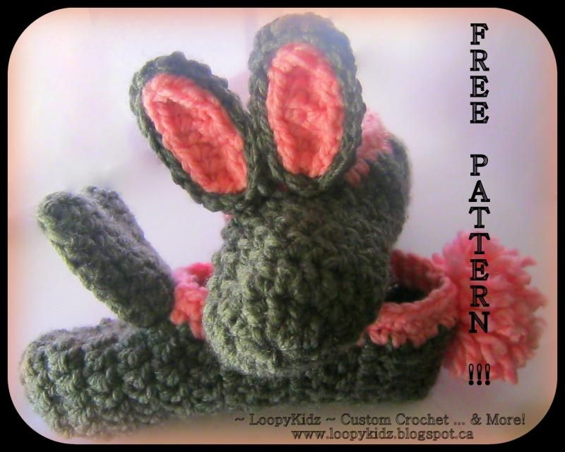 Super Simple Bunny Slippers FREE CROCHET pattern! « The Yarn Box