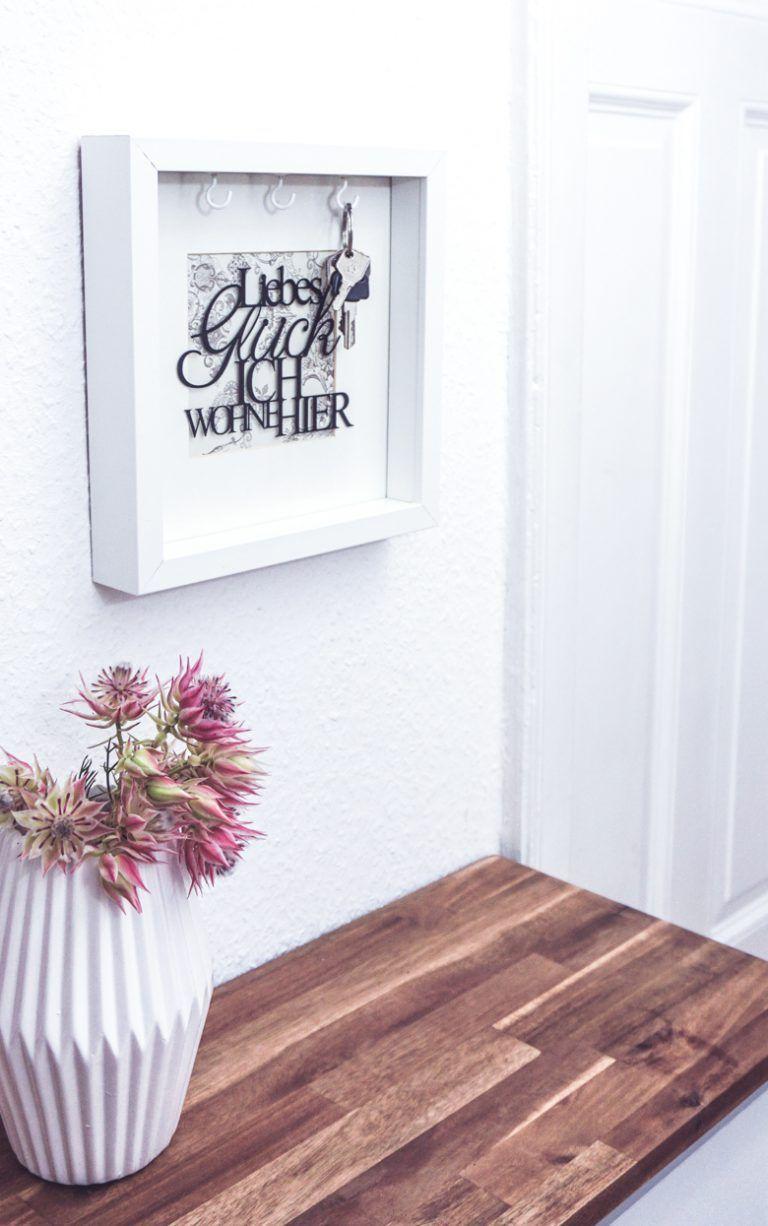 Photo of Geschenk zum Einzug: Bilderrahmen Schlüsselkasten #dreimalanders // Werbung › dreieckchen – Lifestyle Blog #dreimalanders