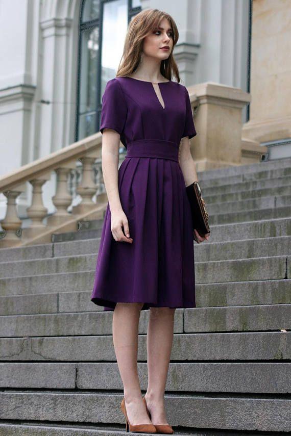 Knee Length Formal Dresses for Women