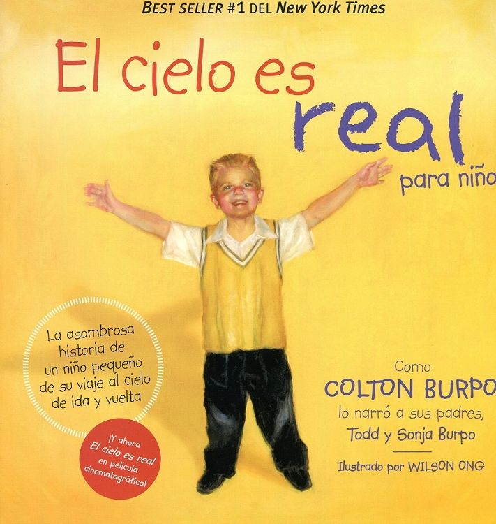 El Cielo Es Real Para Niños Colton Burpo Colton Burpo Hardcover Book Heaven Is Real