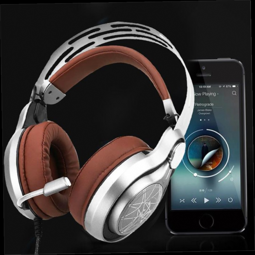 41.03$  Watch here - http://aliks7.worldwells.pw/go.php?t=32776545660 - USB Gaming Headset Headband SuperBass deep bass LED light Luminous glowing shock casque Headphones With Mic For PC computer