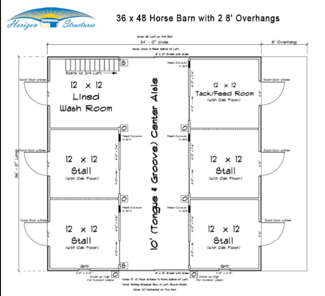 Yellow Barn Floor Plan Small Horse Barn Plans Diy Horse Barn Horse Barn Designs
