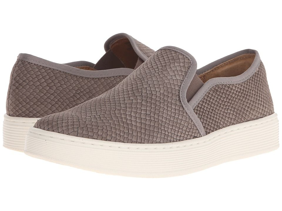 a940cb84ed Sofft Somers Women s Slip on Shoes Snare Grey Thai Snake
