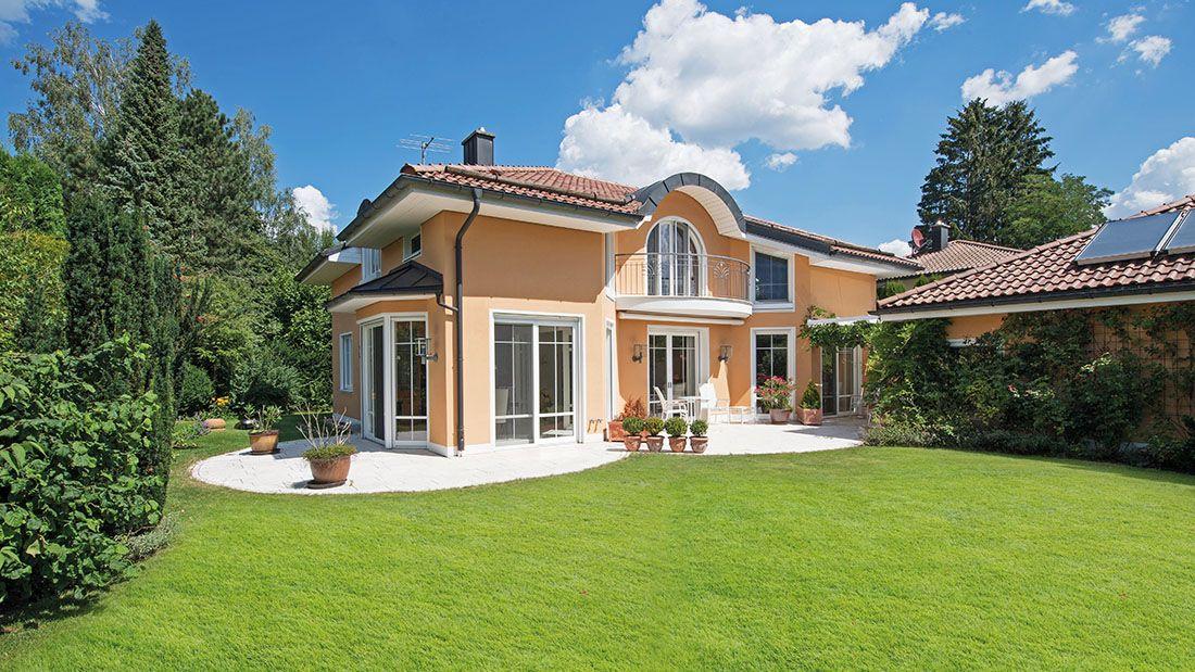 Klassische Villa mit idyllischem Garten Grünwald bei