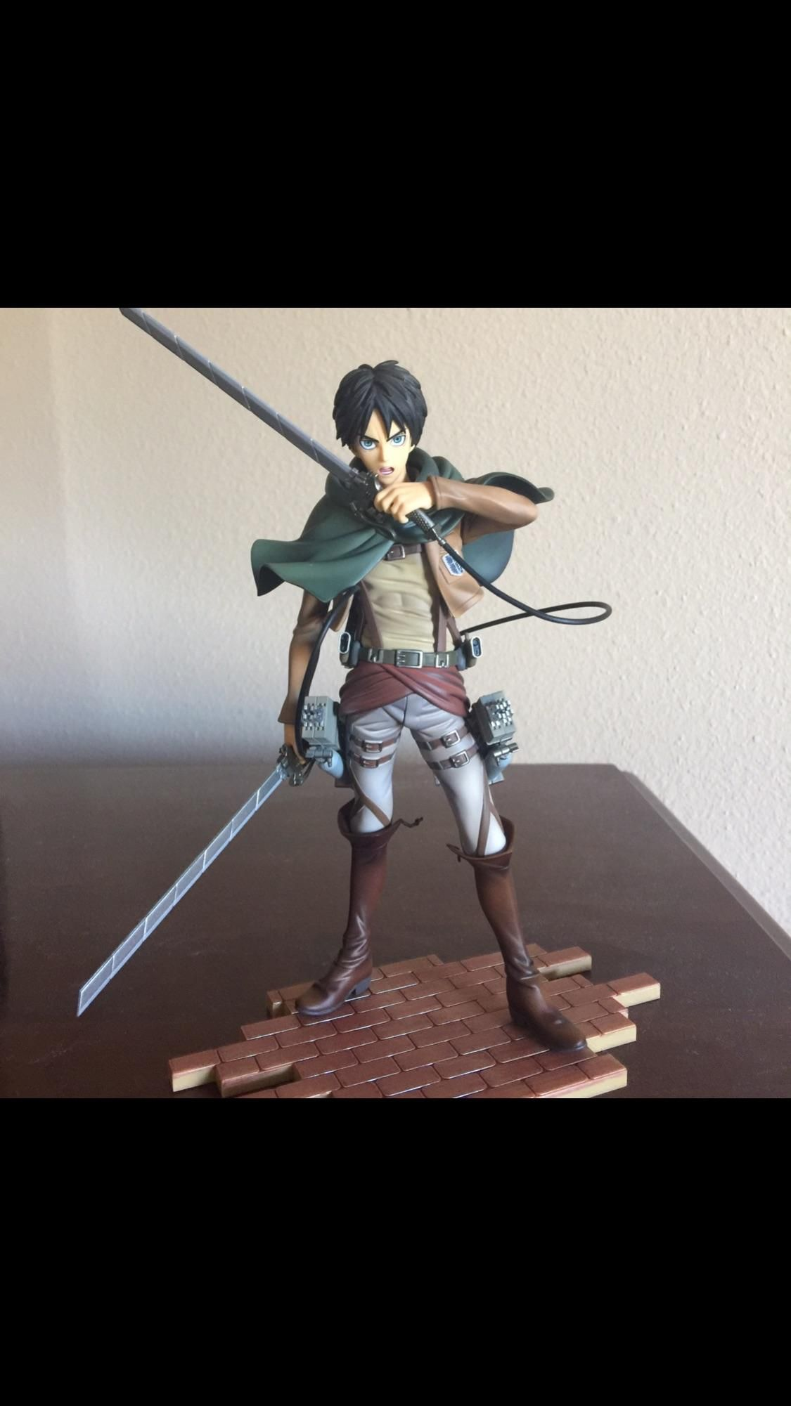 Eren finally came in today Love how detailed he is. - http://ift.tt/2lOUm7R